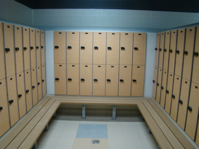 Plastic Locker With Phenolic Doors